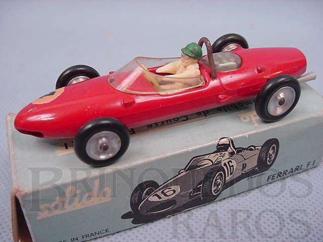 Brinquedo antigo Ferrari 156 Fórmula 1 Shark Nose