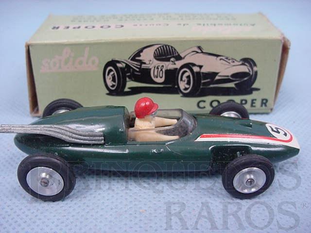 Brinquedo antigo Cooper 1500 Formula 2 verde