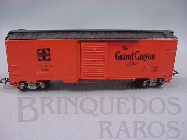 Brinquedo antigo Vagão Box Santa Fé Grand Canyon Década de 1960