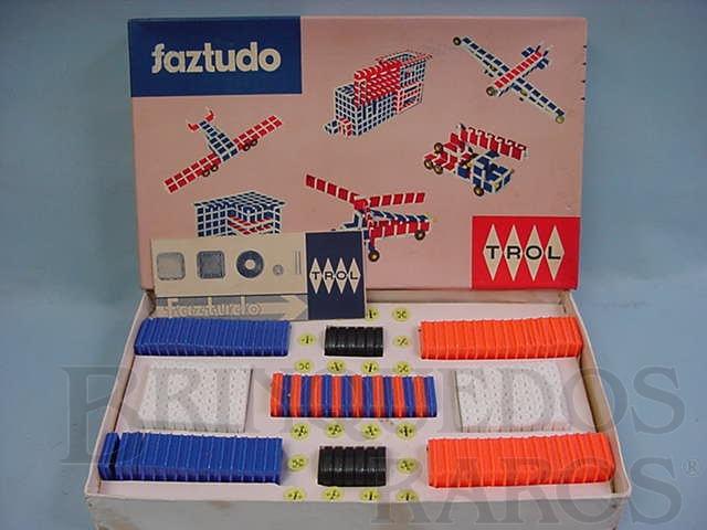 Brinquedo antigo Faz Tudo Caixa número 3 Década de 1960