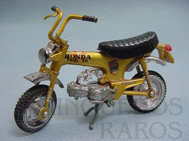 Brinquedo antigo Honda ST 70 Trial Década de 1970