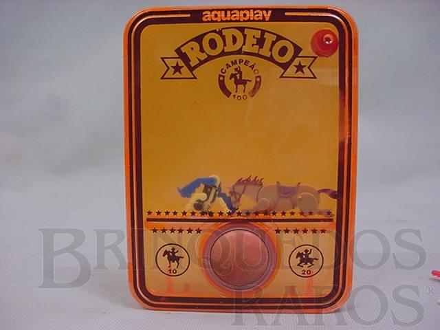 Brinquedo antigo Aquaplay Rodeio Década de 1970