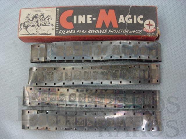 Brinquedo antigo Filmes avulsos para Projetor Cine Magic Década de 1970