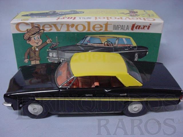 Brinquedo antigo Chevrolet Impala 1978 Taxi