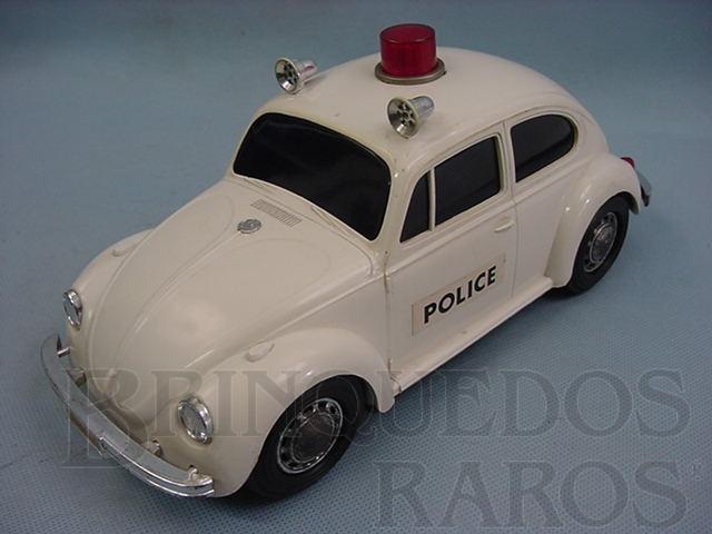 Brinquedo antigo Volkswagen Sedan com 26,00 cm de comprimento Police Década de 1970