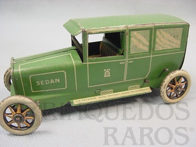 Brinquedo antigo Carro Limousine Sedan com 14,00 cm de comprimento Ano 1929