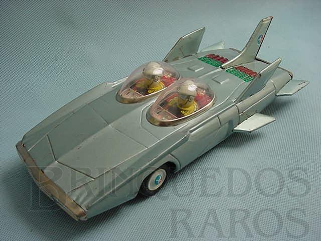 Brinquedo antigo Carro Conceito 1959 General Motors Firebird III com 28,00 cm de comprimento Versão Azul Década de 1960