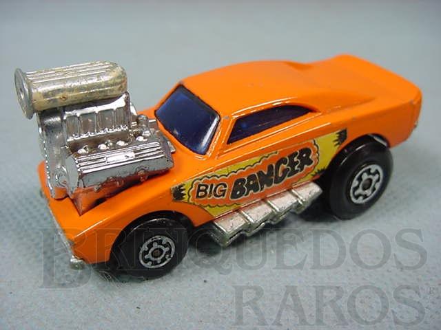 Brinquedo antigo Big Banger Superfast laranja Brazilian Matchbox Inbrima Década de 1970