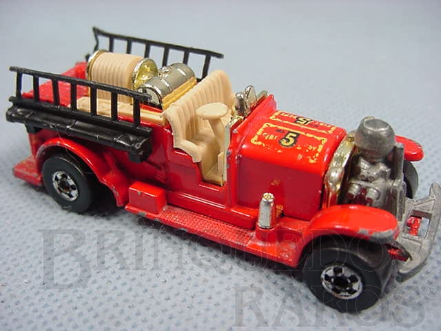 Brinquedo antigo Old Number Five Hot Regular Wheels Ano 1981