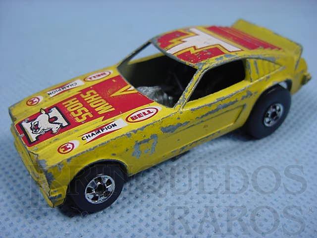 Brinquedo antigo Mustang Show Hoss II Hot Wheels Ano 1977