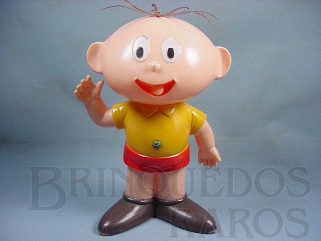 Brinquedo antigo Cebolinha com 38,00 cm de altura Maurício de Sousa Década de 1970