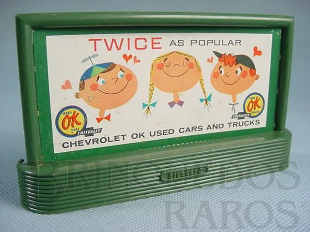 Brinquedo antigo Suporte 310 Bilboard Chevrolet Ano 1950 a 1968