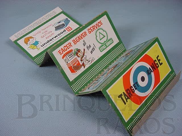 Brinquedo antigo Suporte 310 Bilboard Set of five Plates Ano 1950 a 1968