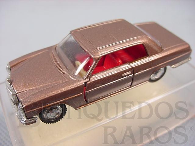 Brinquedo antigo Mercedes Benz 250 CE dourada Brasilianische Schuco Rei