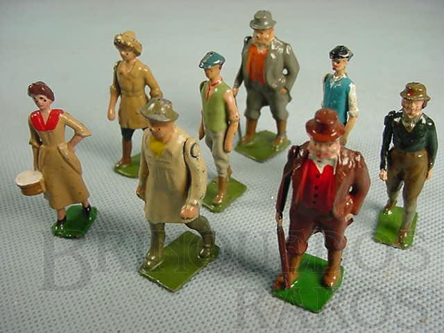 Brinquedo antigo Figuras diversas Farms Série Década de 1930
