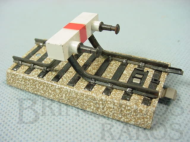 Brinquedo antigo Trilho para fim de linha Série M Década de 1960