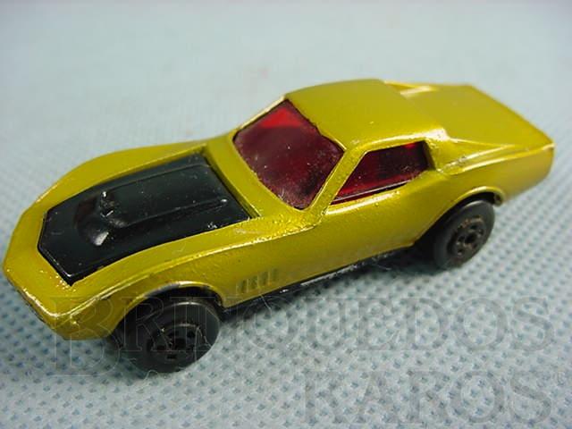 Brinquedo antigo Corvette Special Muky Superveloz cópia  da Custom Corvette lançada pela Hot Wheels em 1968 Década de 1970