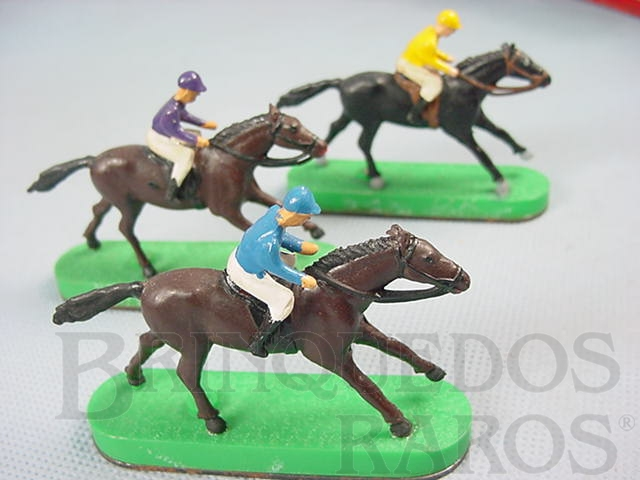 Brinquedo antigo Cavalos de corrida para Stabo Derby Década de 1960 Preço por unidade