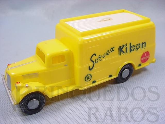 Brinquedo antigo Caminhão Sorvex Kibon com 20,00 cm de comprimento Brinde do início da Década de 1960 perfeito estado