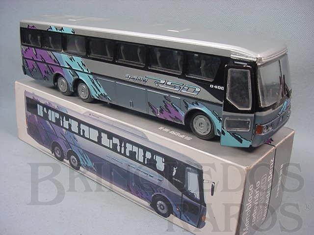 Brinquedo antigo Onibus Mercedes Benz Monobloco Rodoviário 0400