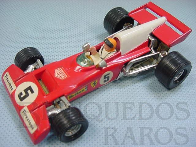 Brinquedo antigo Ferrari 312 B2 formula 1 Década de 1970