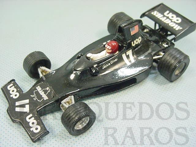 Brinquedo antigo Shadow Ford DN1 1A Fórmula 1 Década de 1970