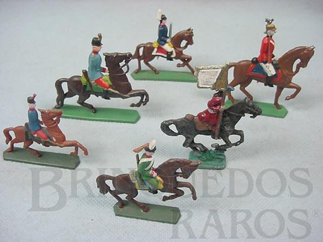 Brinquedo antigo Soldados a cavalo Semi - Flat forma Schneider Preço por unidade