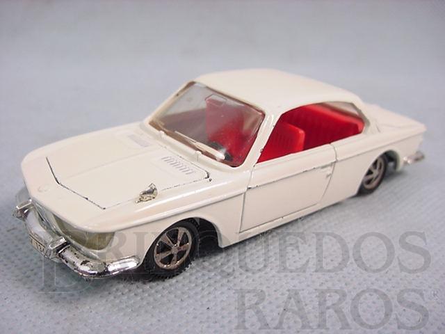 Brinquedo antigo BMW 2000 CS branco Década de 1970