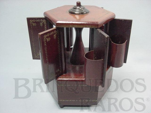 Brinquedo antigo Pagode porta-cigarros Melodia Valsa Vienense Ano 1954