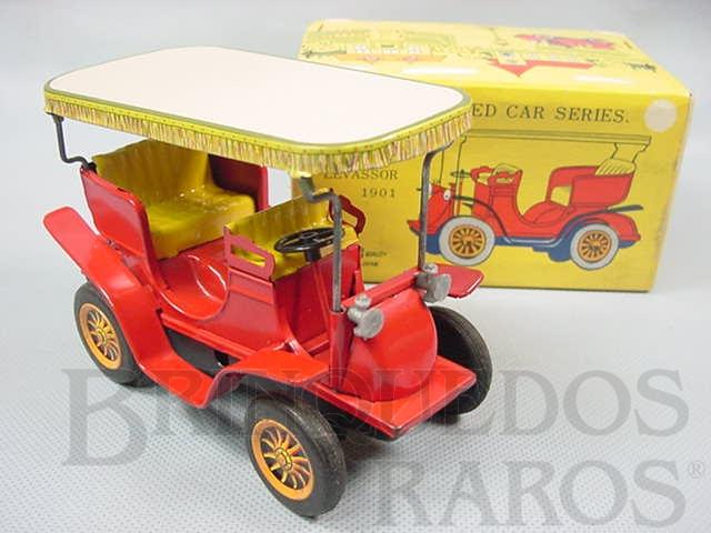 Brinquedo antigo Panhard Levassor 1901 Série Old Fashioned Car Series Década de 1960