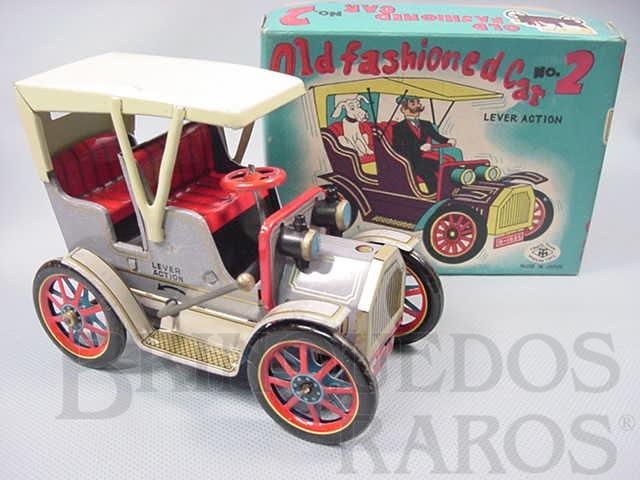 Brinquedo antigo Old Fashioned Car Nº 2 Movimento por alavanca Ano 1967