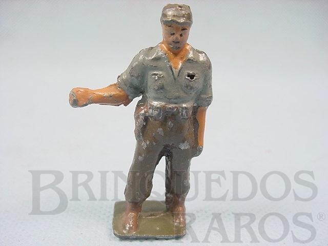 Brinquedo antigo Figura de Policial Argentino Década de 1950