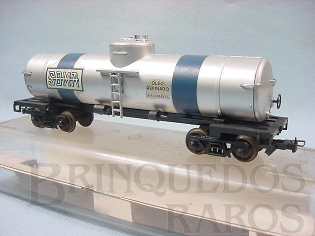 Brinquedo antigo Vagão Tanque SOMA Década de 1980