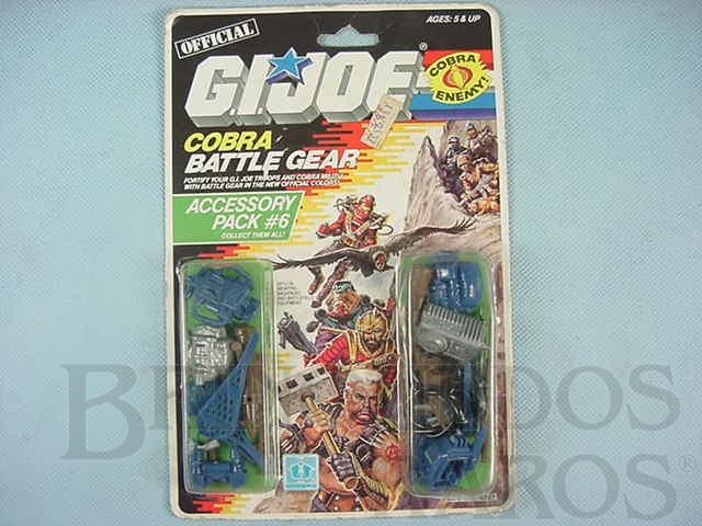 Brinquedo antigo Accessory Pack number 6 Battle Gear completo lacrado Ano 1987