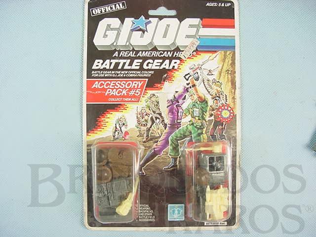 Brinquedo antigo Accessory Pack number 5 Battle Gear completo lacrado Ano 1987