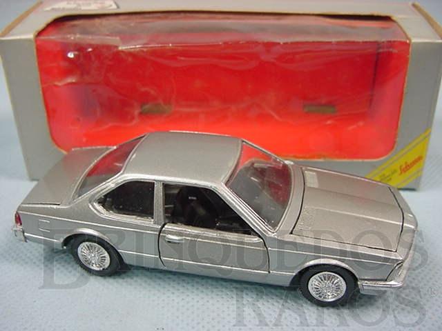 Brinquedo antigo BMW 630 prata Brasilianische Schuco Rei
