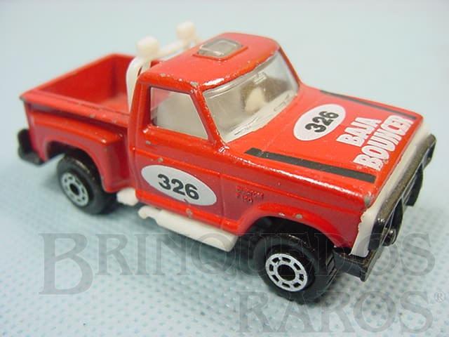 Brinquedo antigo Caminhonete Flareside Pick Up Superfast vermelha Brazilian Matchbox Trol 1970