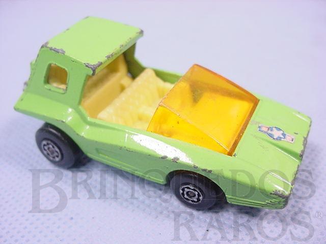 Brinquedo antigo Soopa Coopa Superfast verde limão Brazilian Matchbox Inbrima 1970