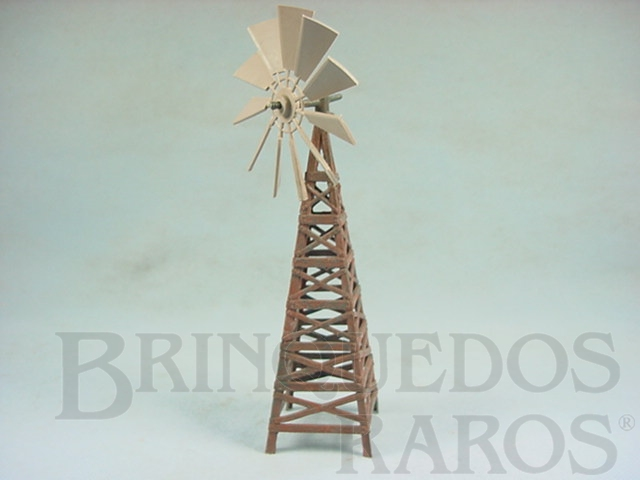 Brinquedo antigo Roda de Vento com 22,00 cm de altura Série Fazenda Chaparral Década de 1960