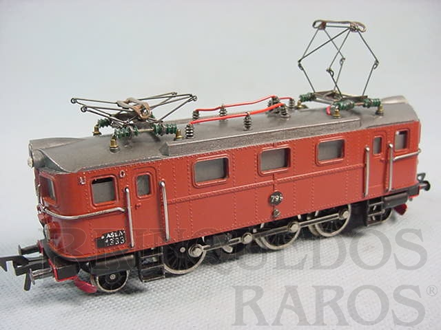 Brinquedo antigo Locomotiva Elétrica Classe DA Rodagem 1