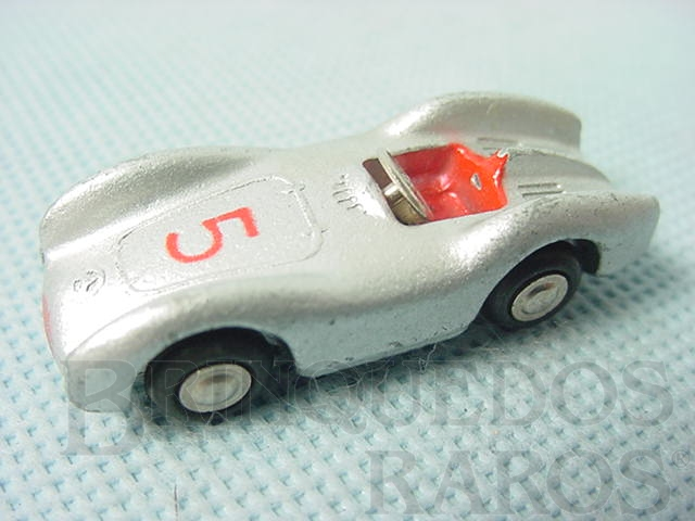 Brinquedo antigo Mercedes Benz 2,5 L Série Piccolo com 5,00 cm de comprimento Numerado 702 Ano 1957