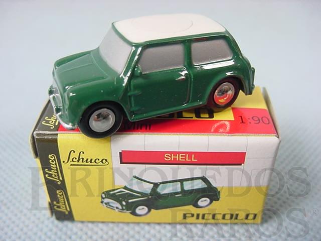 Brinquedo antigo Austin Mini Cooper Série Piccolo Década de 1990