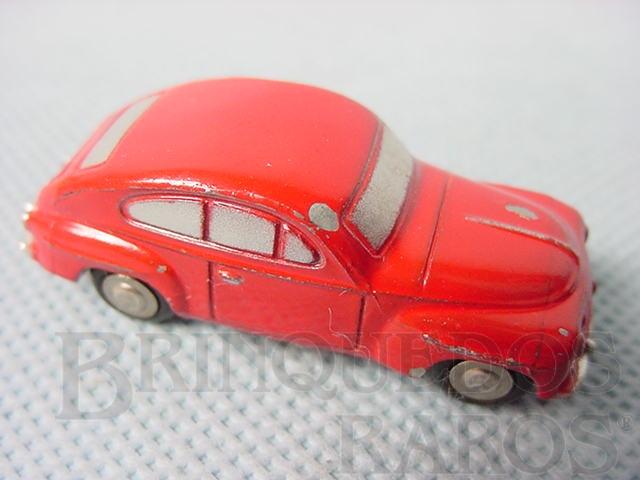 Brinquedo antigo Volvo 544 Série Piccolo numerado 718 com 5,00 cm de comprimento Ano 1957