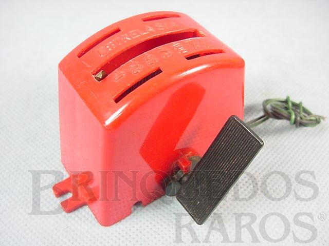 Brinquedo antigo Controlador Acelerador de velocidade Licença Gilbert Co. Ano 1963 a 1965