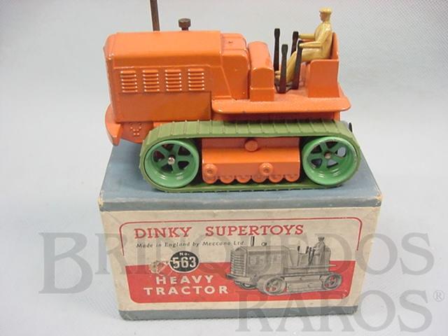 Brinquedo antigo Heavy Tractor Década de 1950