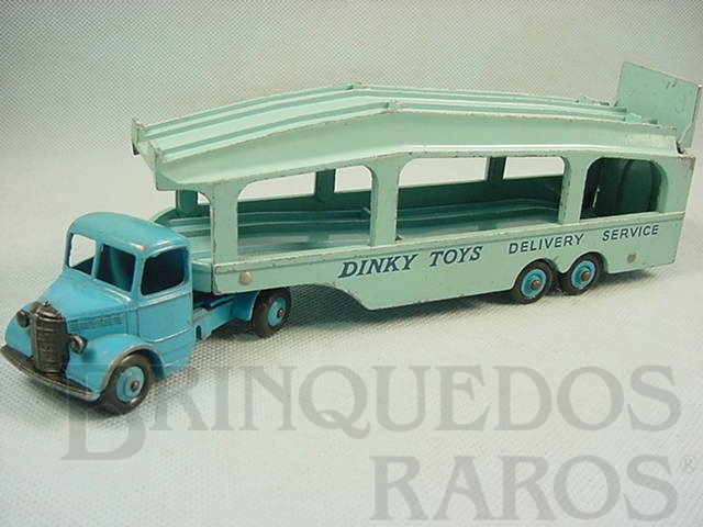 Brinquedo antigo Caminhão Cegonha Pullmore Car Transporter with Bedford Tractor Ano 1953