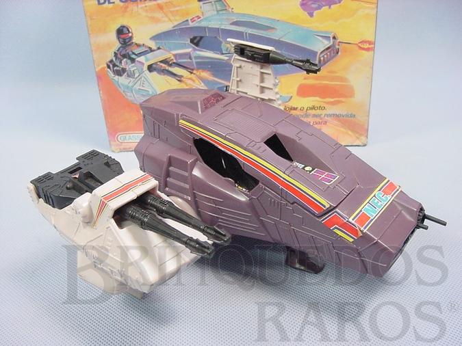 Brinquedo antigo Nave Estelar de Combate Star Wars Série Droids Década de 1980