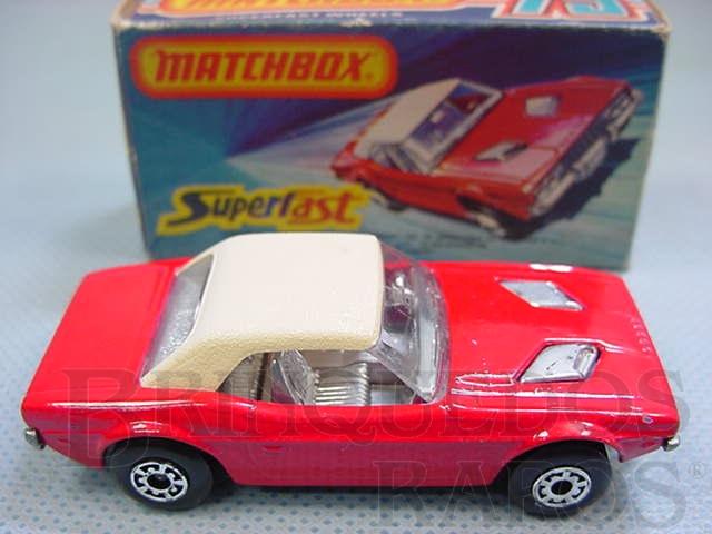 Brinquedo antigo Dodge Challenger Superfast Brazilian Matchbox Inbrima 1970