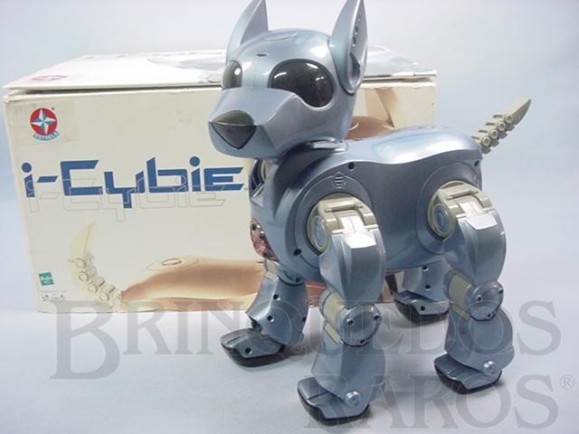 Brinquedo antigo Cachorro Robot I-Cybie Inúmeros movimentos computadorizados Importado e distribuído pela Estrela Ano 2006