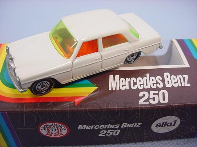 Brinquedo antigo Mercedes Benz 250 branco Brasilianische Siku Alfema